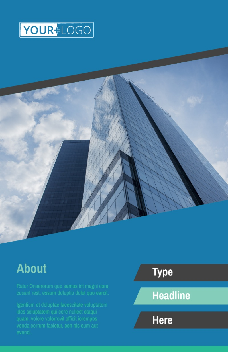 Commercial Real Estate Agents Flyer Template Preview 2