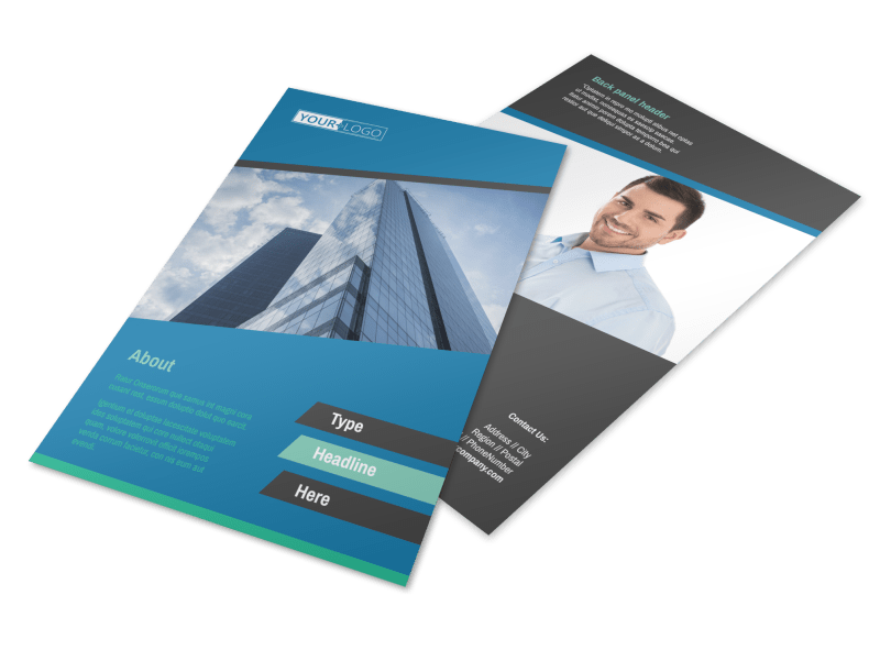Commercial Real Estate Agents Flyer Template Preview 1