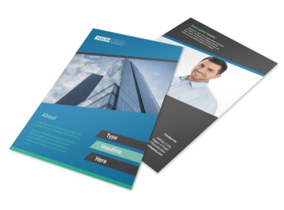 Commercial Real Estate Agents Flyer Template 3