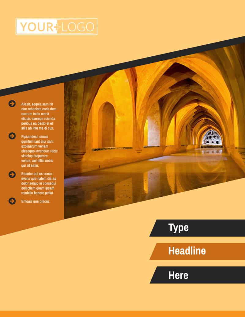 Creative Architecture & Design Flyer Template Preview 2