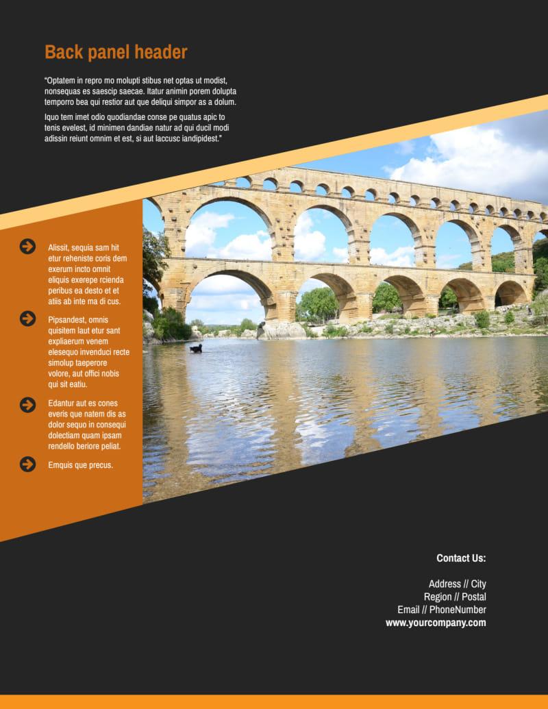 Creative Architecture & Design Flyer Template Preview 3