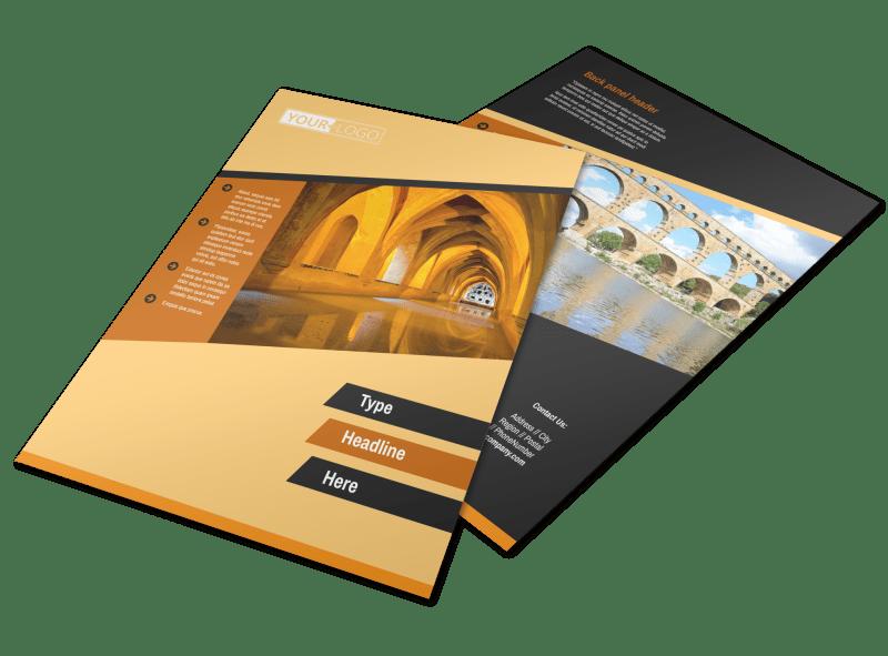 Creative Architecture & Design Flyer Template Preview 1