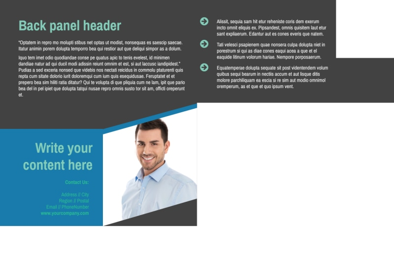 Commercial Real Estate Agents Postcard Template Preview 3
