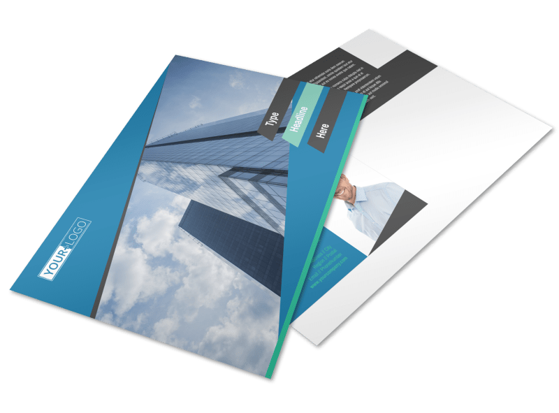 Commercial Real Estate Agents Postcard Template Preview 1