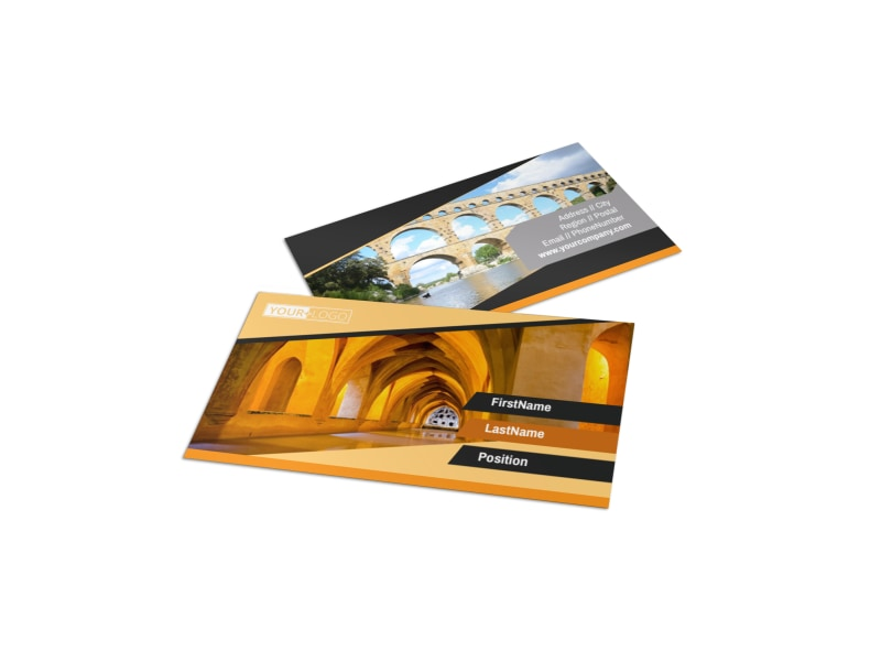 Creative Architecture & Design Business Card Template Preview 4