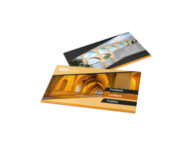 Creative Architecture & Design Business Card Template preview