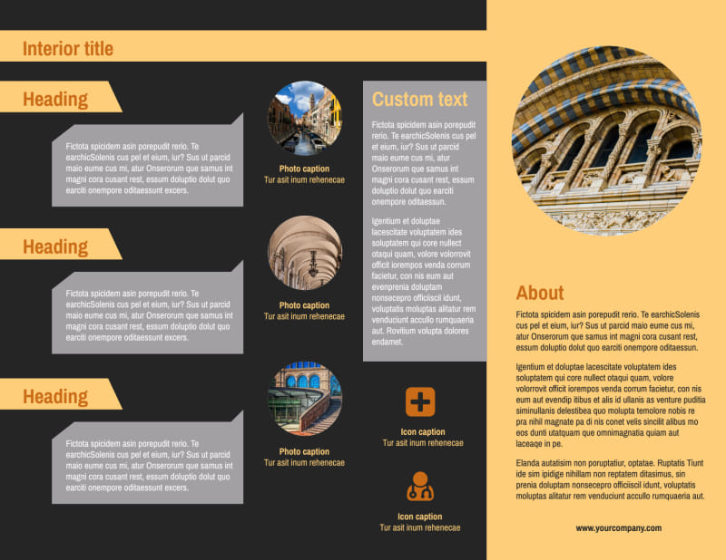 Creative Architecture & Design Brochure Template Preview 3
