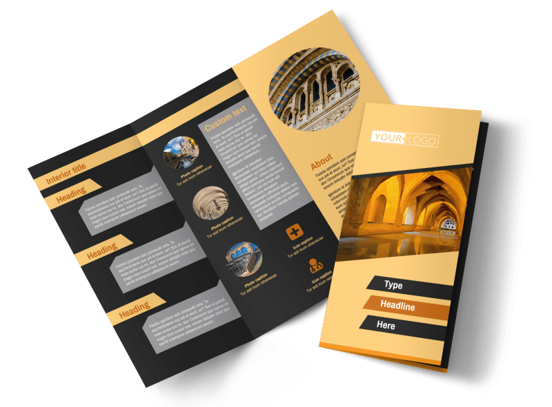 Creative Architecture & Design Brochure Template Preview 1