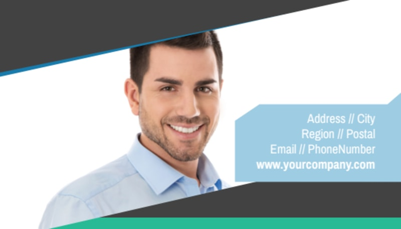 Commercial Real Estate Agents Business Card Template Preview 3