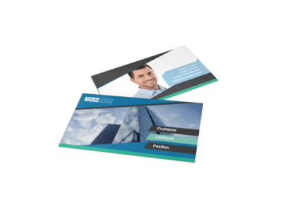 Commercial Real Estate Agents Business Card Template