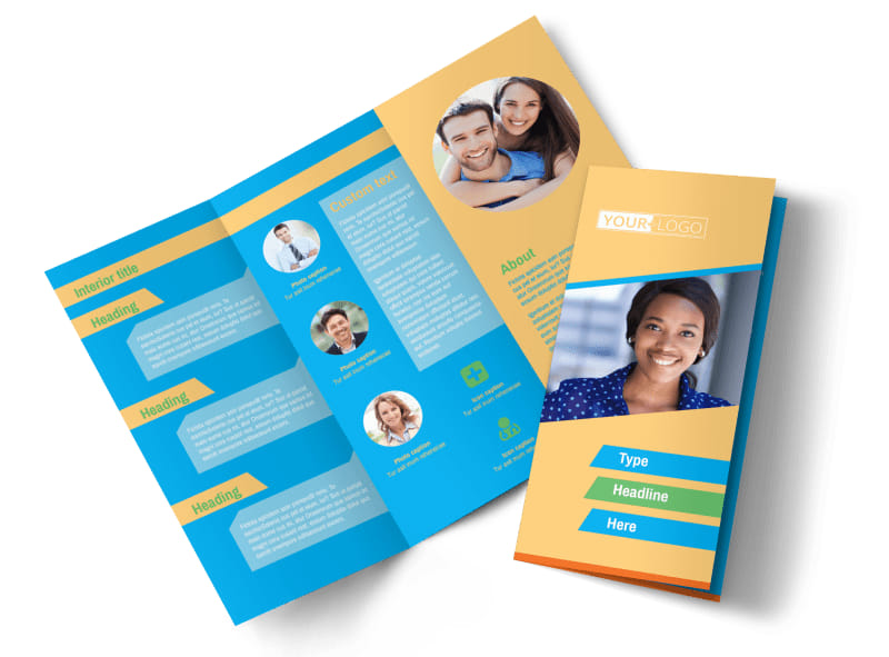 Self Improvement Conference Tri-Fold Brochure Template