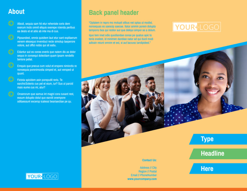 Self Improvement Conference Brochure Template Preview 2