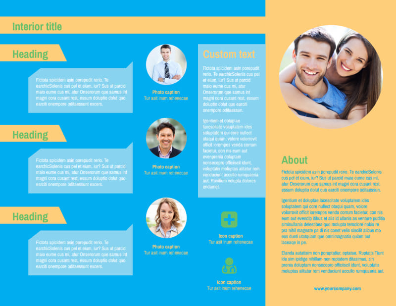Self Improvement Conference Brochure Template Preview 3