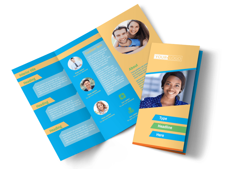 Self Improvement Conference Brochure Template Preview 1