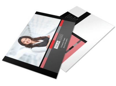 Bookkeeping & Accounting Services Postcard Template 2 preview