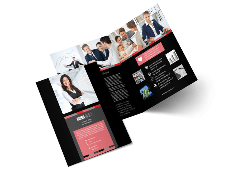 Accounting & Bookkeeping Brochure Template Preview 4