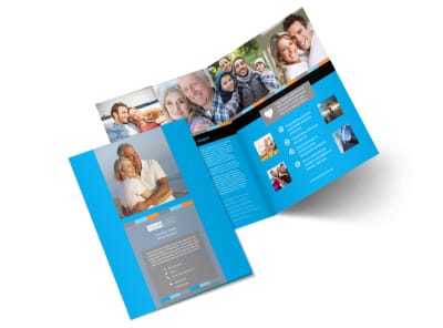 Life Insurance Company Brochure Template 2