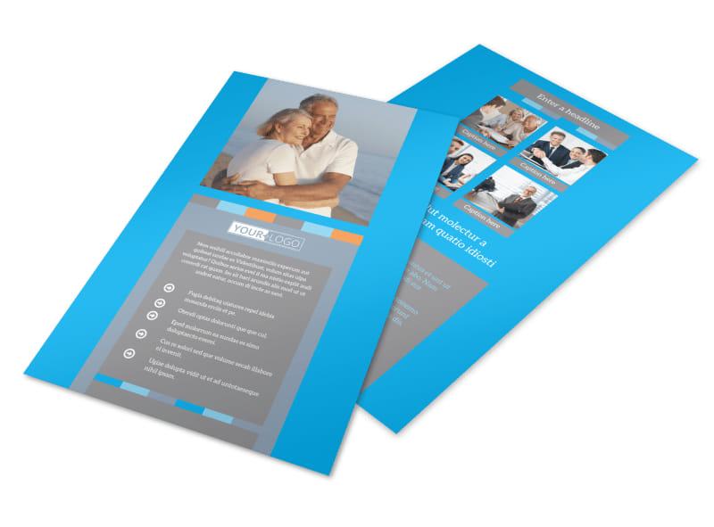 Life Insurance Flyer Template 3