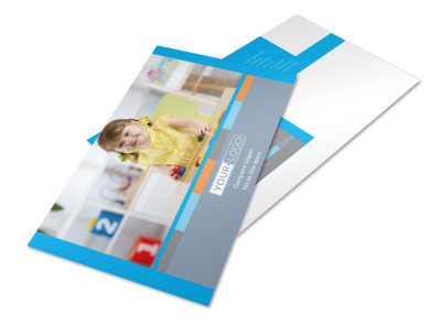 Cognitive Child Development Postcard Template 2 preview