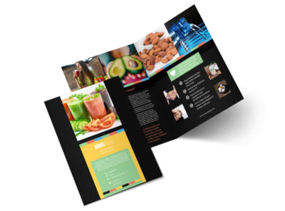 Diet & Nutrition Bi-Fold Brochure Template 2 preview