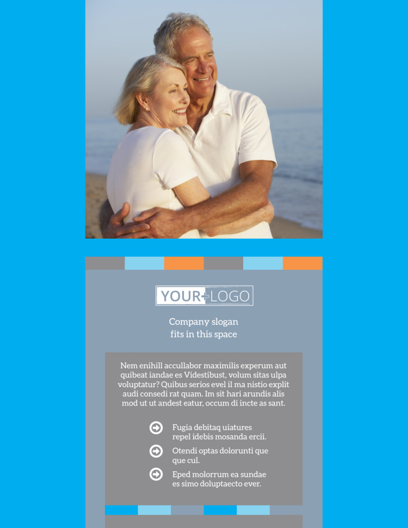 Life Insurance Flyer Template Preview 2