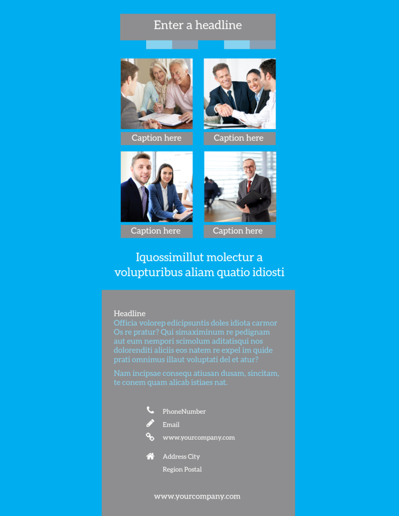 Life Insurance Flyer Template Preview 3
