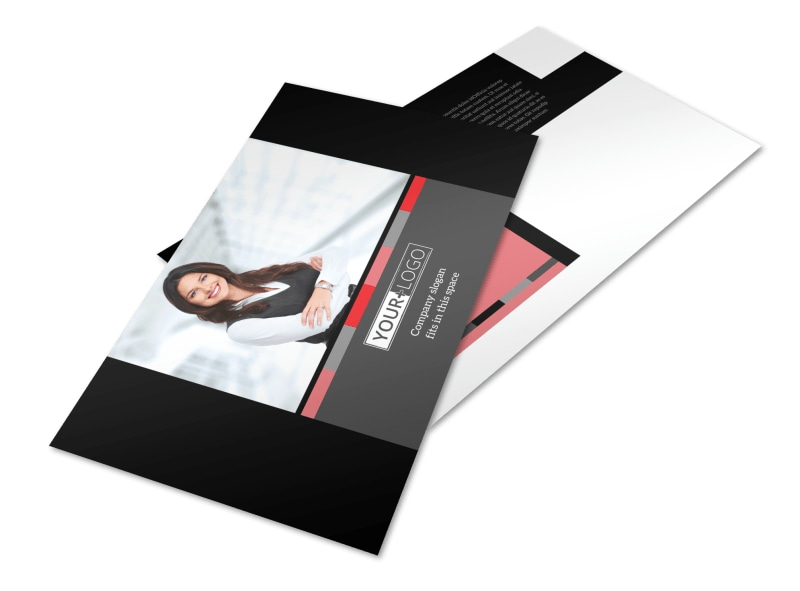 Accounting & Bookkeeping Postcard Template Preview 4