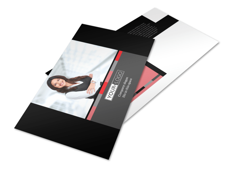 Accounting & Bookkeeping Postcard Template Preview 1