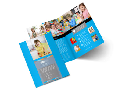 Cognitive Child Development Bi-Fold Brochure Template 2