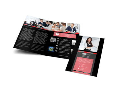 Bookkeeping & Accounting Services Bi-Fold Brochure Template preview