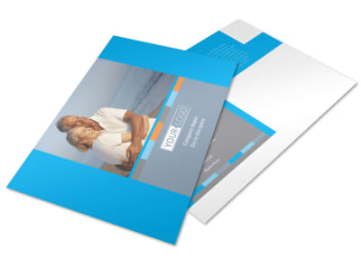 Life Insurance Company Postcard Template preview