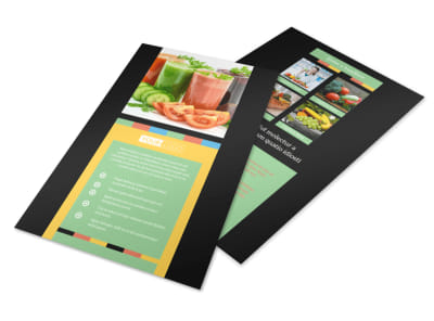 Diet & Nutrition Flyer Template 3