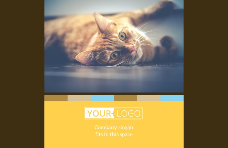 Animal Shelter & Pet Adoption Postcard Template Preview 2
