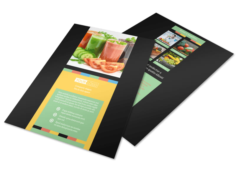 Diet & Nutrition Flyer Template Preview 4