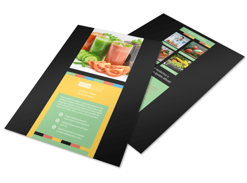 Diet & Nutrition Flyer Template Preview 1