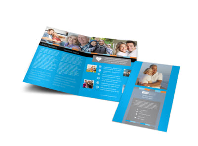 Life Insurance Bi-Fold Brochure Template preview