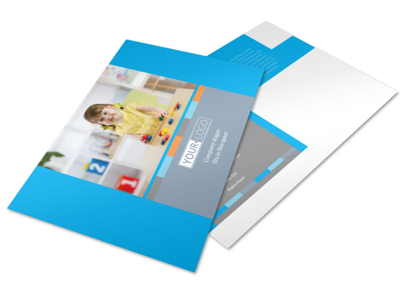 Cognitive Child Development Postcard Template