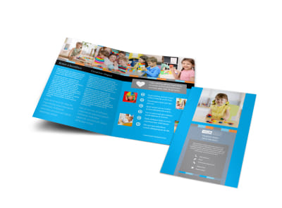 Cognitive Child Development Bi-Fold Brochure Template preview