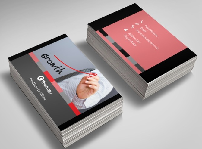 Accounting & Bookeeping Services Business Card Templates