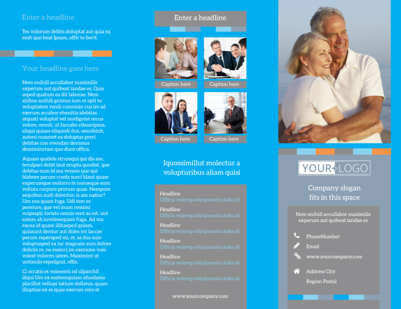 Life Insurance Brochure Template Preview 2