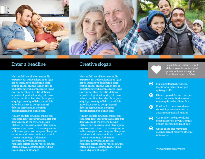 Life Insurance Brochure Template Preview 3