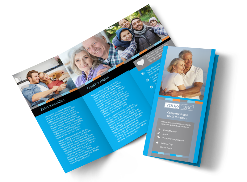Life Insurance Brochure Template Preview 1