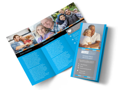 Life Insurance Tri-Fold Brochure Template preview