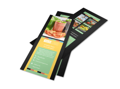 Diet & Nutrition Flyer Template 2