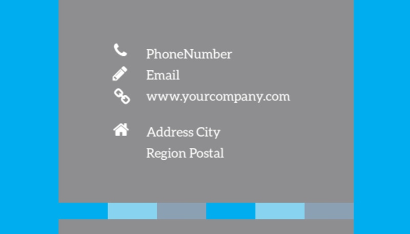 Life Insurance Business Card Template Preview 3