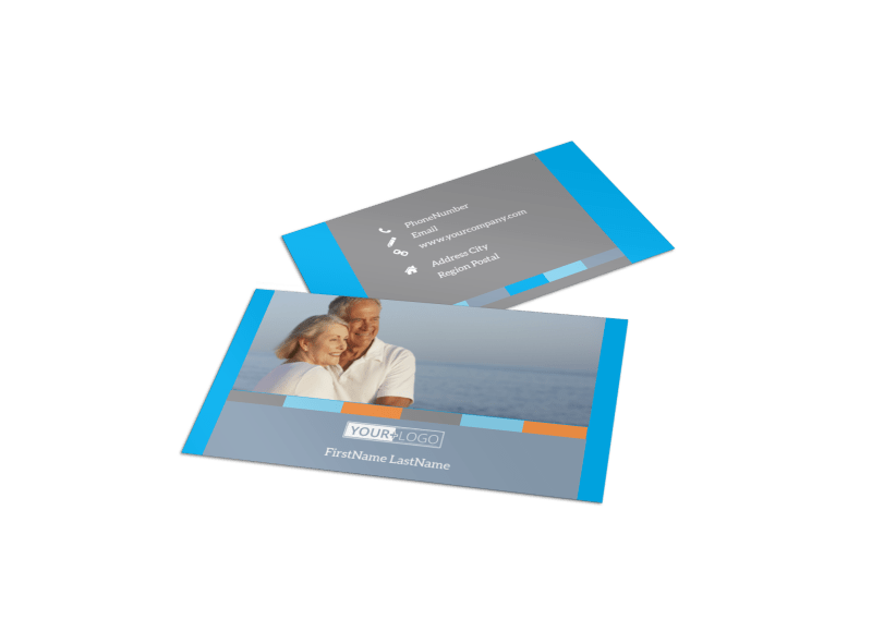 Life Insurance Business Card Template Preview 1