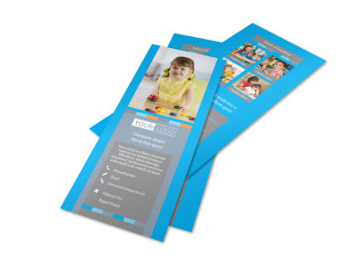 Cognitive Child Development Flyer Template 2