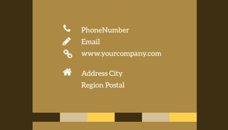 Animal Shelter & Pet Adoption Business Card Template Preview 3