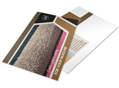 Carpet & Hardwood Flooring Postcard Template 2