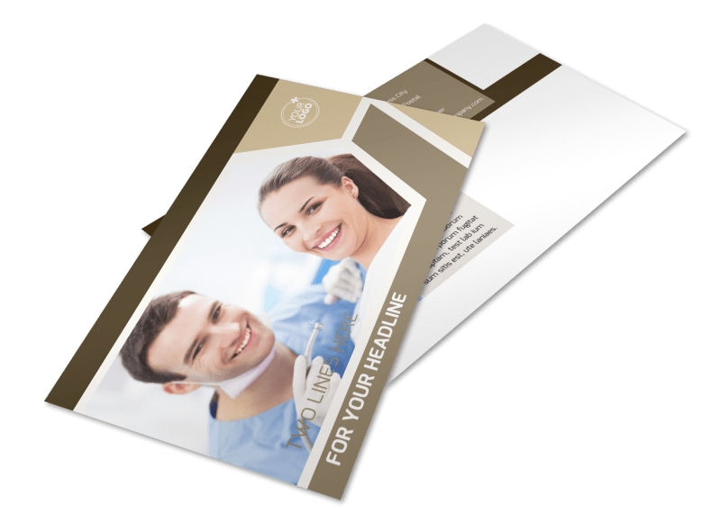 Orthodontist Postcard Template 2